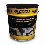 Мастика битумная AquaMast для фундамента 18 кг