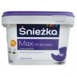 Краска водоэмульсионная Снежка Max White Latex, 3л
