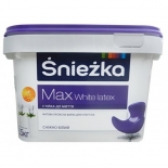 Краска водоэмульсионная Снежка Max White Latex, 2,5л