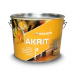 Краска водоэмульсионная Eskaro Akrit 4, 0,95л