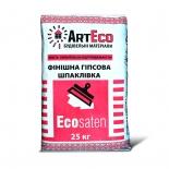 Шпаклевка гипсовая финишная ArtEco ECOSATEN 25кг