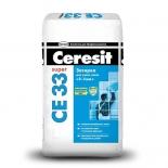 Затирка Ceresit CE33 темно-коричневая, 2кг