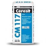 Клей для плитки универсальный Ceresit CM-117, 25кг