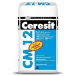 Клей для напольной плитки Ceresit CM-12, 25кг