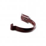 Держатель желоба малый металл Profil D130 коричневый 8017 (021)