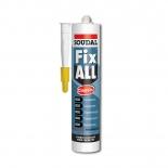 Клей-герметик Soudal Fix All серый