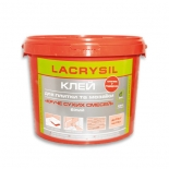 Клей Lacrysil для плитки и мозаики белый 15кг
