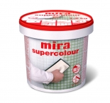 Затирка Mira Supercolor №120 серая, 1,2кг