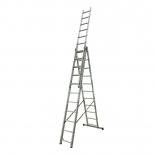 Лестница KRAUSE Corda 3х11 ступеней (Код: 010421)