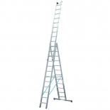 Лестница KRAUSE Stabilo 3х12 ступеней Profi (Код: 123350)