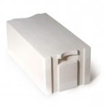 Блок газобетонный AEROC EcoTerm D400 375x200x600 (паз, гребень)