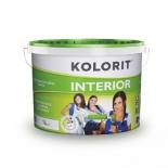 Краска водоэмульсионная Колорит INTERIOR 3л