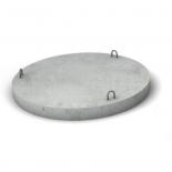Крышка нижняя для колодца ЖБИ, d=1,5м