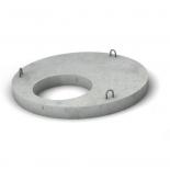 Крышка верхняя для колодца ЖБИ, d=1,5м
