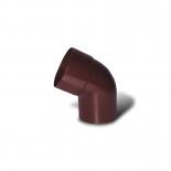 Колено водосточной трубы 60° ПВХ Profil D130 коричневое 8017 (009)