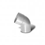 Колено водосточной трубы 60° ПВХ Profil D130 белое 9016 (009)