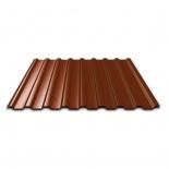 Профнастил ПР-20А 1150х1500х0,5мм коричневый RAL8017