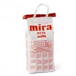 Клей для плитки тонкослойный Mira 3110 unifix, 15кг
