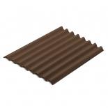 Ондулин 0,95м*2м коричневый