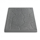 Плитка тротуарная Песчаник, 30х30х3 см, серая