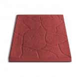 Плитка тротуарная Песчаник, 30х30х3 см, красный