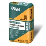 Клеевая смесь для кладки термоизоляционная Полипласт ПСМ-050, 30л