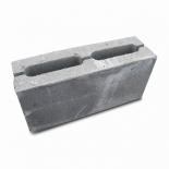 Шлакоблок перегородка СБ-ПР2 9х19х39 см