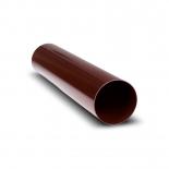 Труба водосточная ПВХ RainWay D75, 3м коричневая (8017)