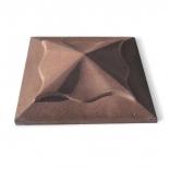 Шапка коричневая Тюльпан, 45х45х11 см