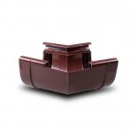 Угол желоба внутренний W135° ПВХ Profil D90 коричневый 8017 (104D)
