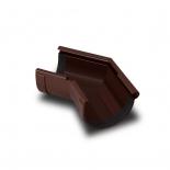 Угол желоба наружный 135° ПВХ RainWay D130 коричневый (8017)