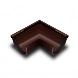 Угол желоба наружный 90° ПВХ RainWay D90 коричневый (8017)
