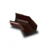 Угол желоба внутренний 135° ПВХ RainWay D90 коричневый (8017)