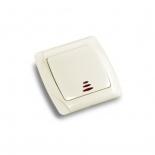 Выключатель кнопочный с подсветкой ViKO Carmen () кремовый