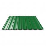 Профнастил ПР-20А 1150х2000х0,5мм зеленый RAL6005