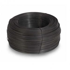 Проволока вязальная чёрная 4мм