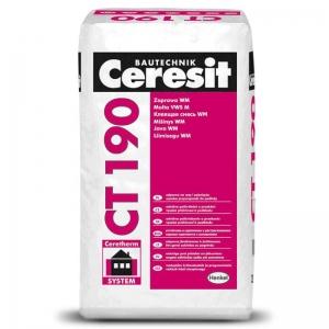 Клей для минераловатных плит Ceresit CT-190, 25кг