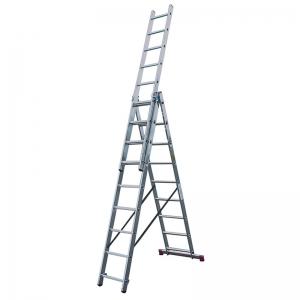 Лестница KRAUSE Corda 3х9 ступеней (Код: 010391)