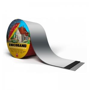Лента-герметик NICOBAND 3х7,5см серебрянная