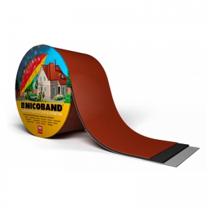 Лента-герметик NICOBAND 3мх10см коричневая