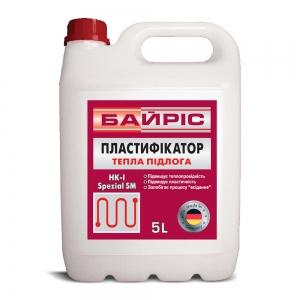 Пластификатор Байрис теплый пол, 5л